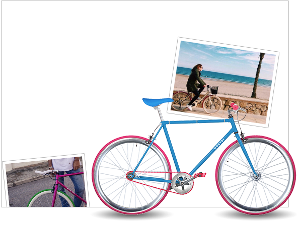 Bici<br /> <strong>personalizable</strong>