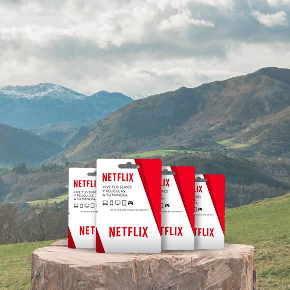 Sorteo suscripción 6 meses Netflix Club Central Lechera Asturiana