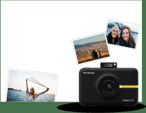 Cámara de fotos  Polaroid Snap