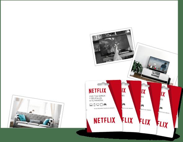 4 suscripciones Netflix