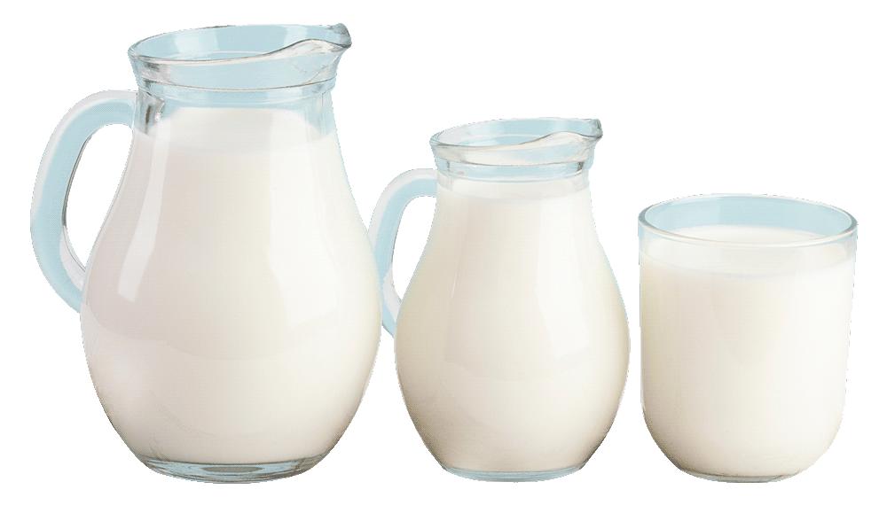 jarras de leche