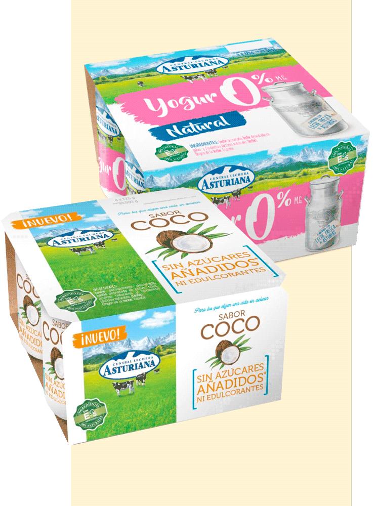 yogures natural