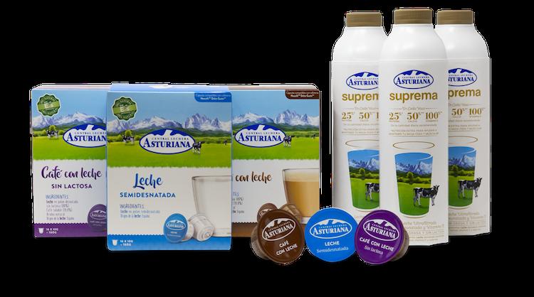 cuantas calorias tiene un cafe con leche deslactosada