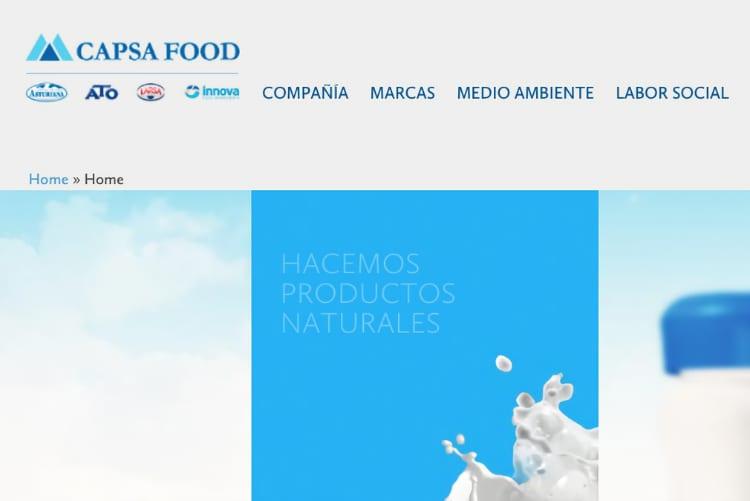 Capsa Food - web