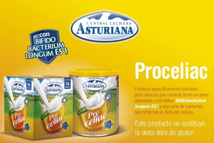 Proceliac, producto lácteo para celíacos de Central Lechera Asturiana
