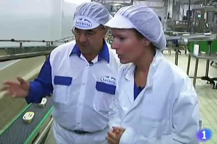"Central Lechera Asturiana, protagonista de ""Fabricando: Made in Spain"" de TVE"