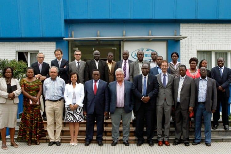 El Gobierno de Bungoma en Kenia visita las instalaciones de Central Lechera Asturiana