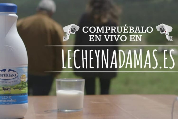 Premio a Central Lechera Asturiana por su campaña 'Leche y nada más'