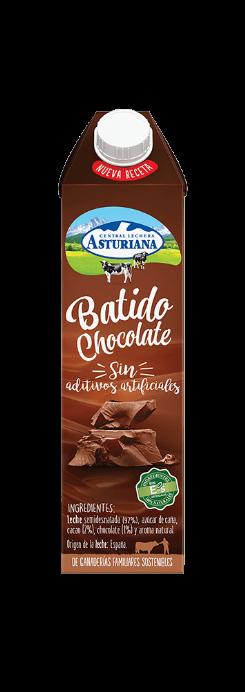 Batido de chocolate 100% Natural Central Lechera Asturiana