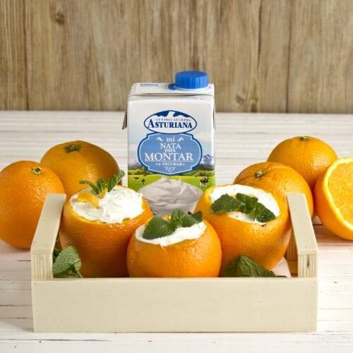 Pudin de naranja