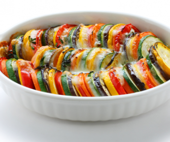 Receta de pastel de patatas con carne al horno central - Verduras rellenas al horno ...