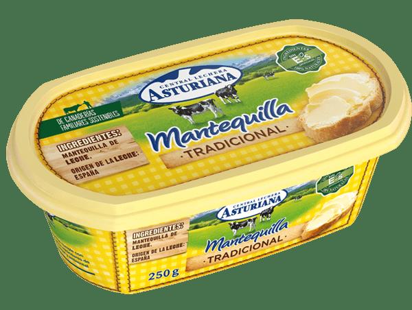mantequilla barqueta 250g