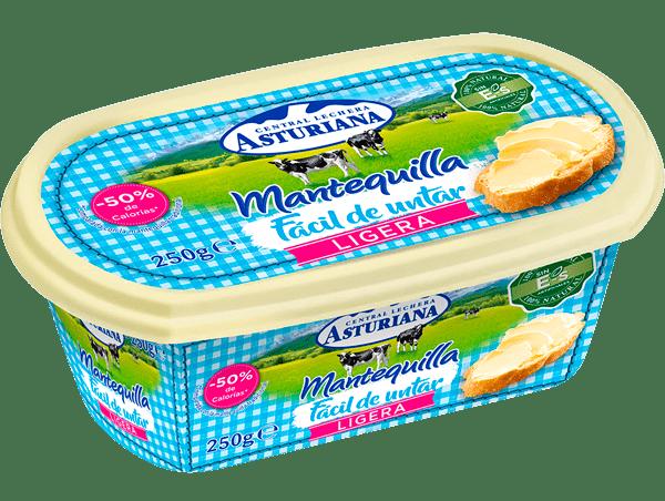 mantequilla fácil de untar