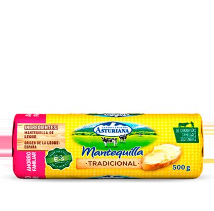 mantequilla en rulo