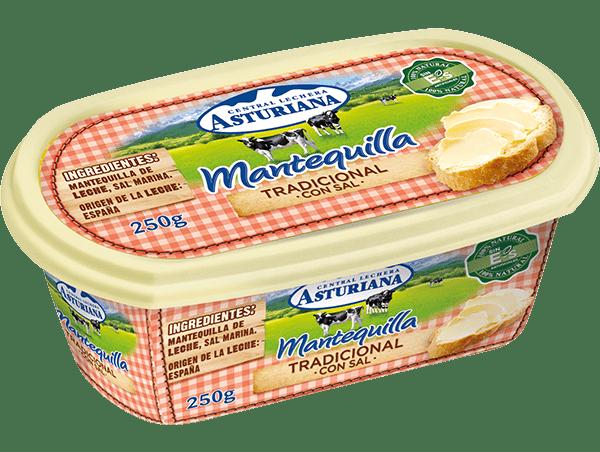 mantequilla con sal