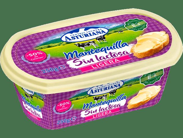mantequilla sin lactosa ligera