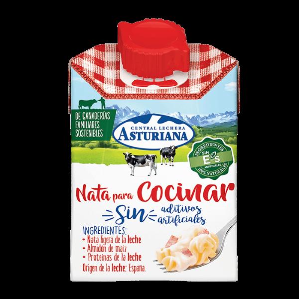 Nata para cocinar 200ml Central Lechera Asturiana