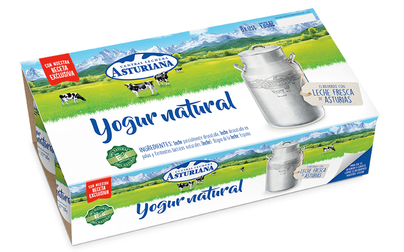pack yogur natural