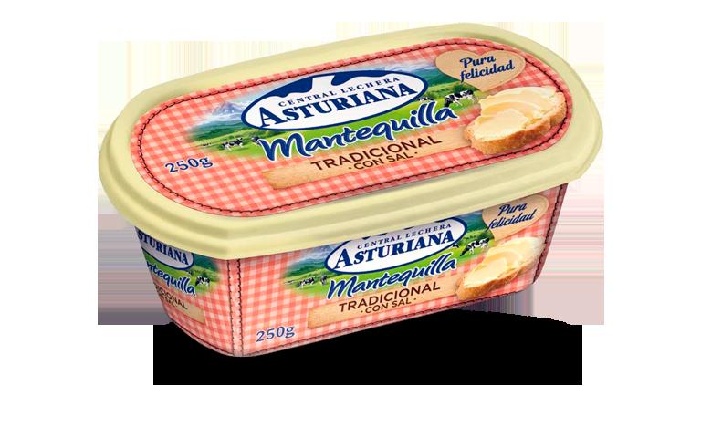 mantequilla tradicional con sal