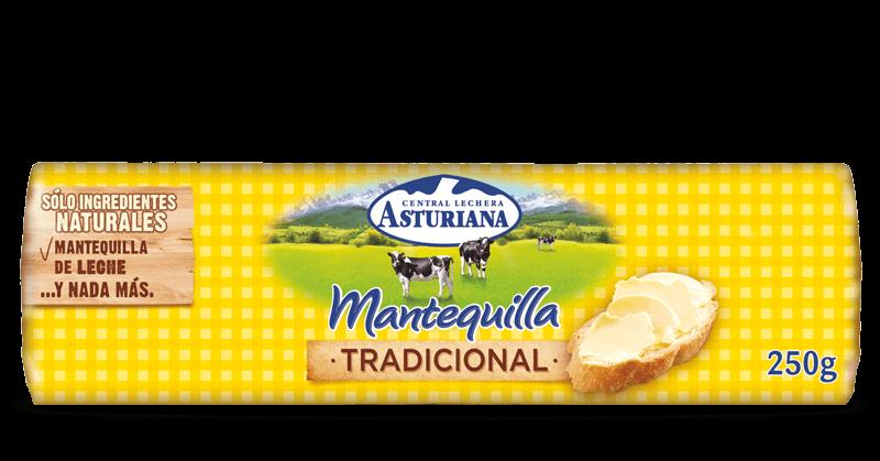 mantequilla tradicional rulo 250 gr