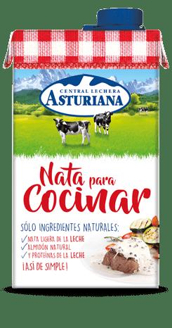 Nata para cocinar 500 ml central lechera asturiana for Nata para cocinar mercadona