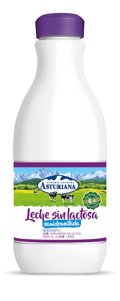 Leche sin lactosa botella 1,5L