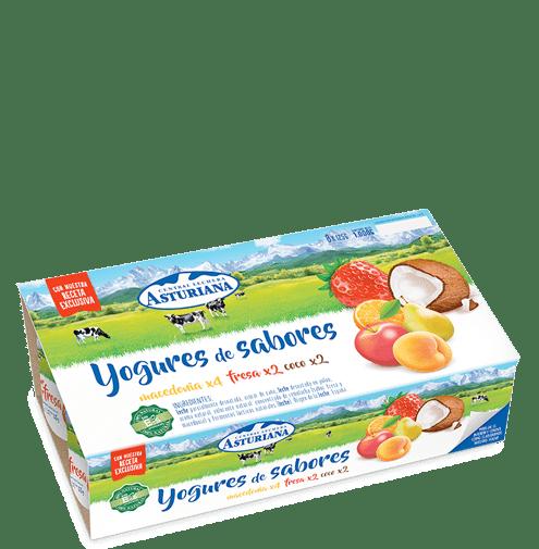 yogures de sabores