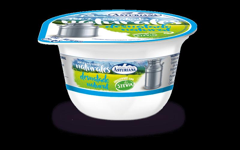 Yogur natural desnatado