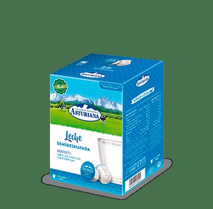Cápsulas leche semidesnatada