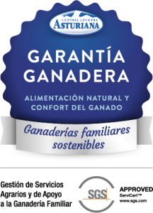 sello garantía ganadera central lechera asturiana