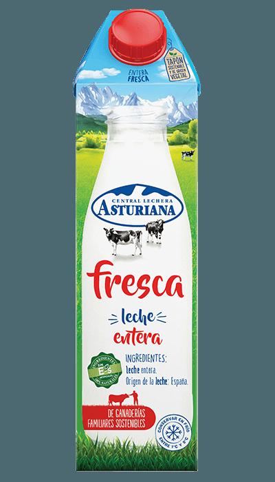 Leche fresca entera 1 l Central Lechera Asturiana