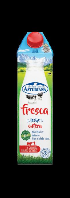 Leche fresca semidesnatada 1 l Central Lechera Asturiana