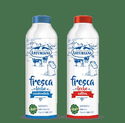 Bodegón leche fresca