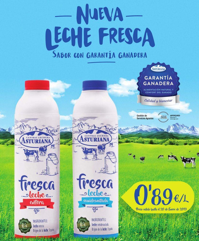 Promo leche fresca