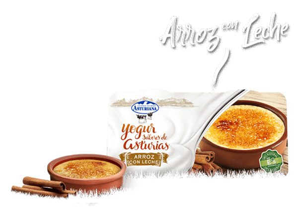 Yogur arroz con leche