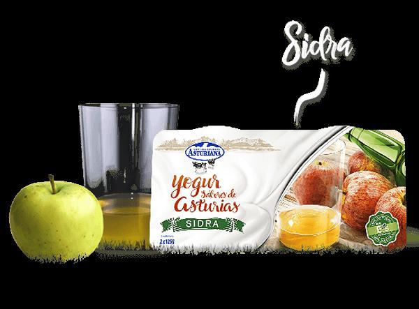 Yogur Sabores de Asturias Sidra