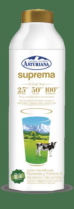 Botella leche Suprema