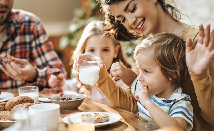 productos lácteos calcio