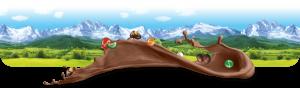 Fondo prado chocolate