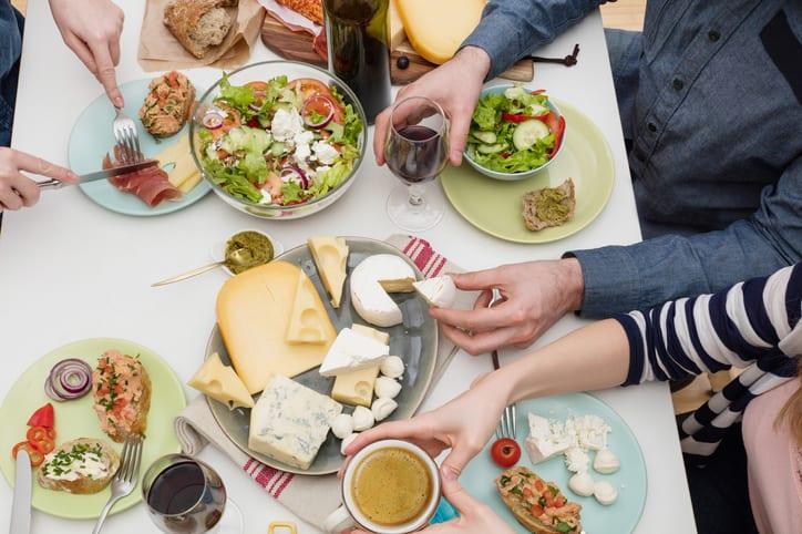 queso alimentación equilibrada