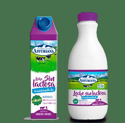 Sin lactosa semidesnatada