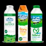 bebidas lácteas de Central Lechera Asturiana