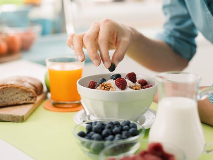 yogur desayuno