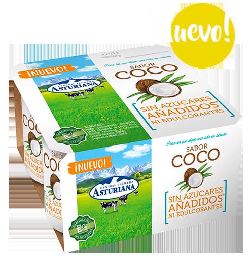 yogur sabor coco
