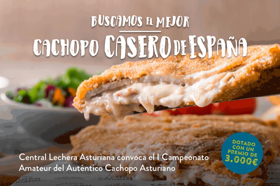Concurso auténtico cachopo asturiano