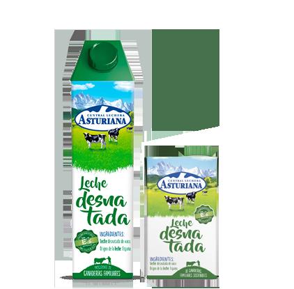 leche desnatada