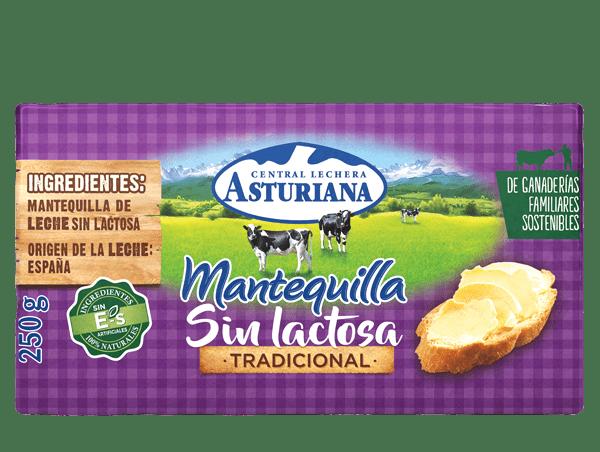 mantequilla sin lactosa 250g