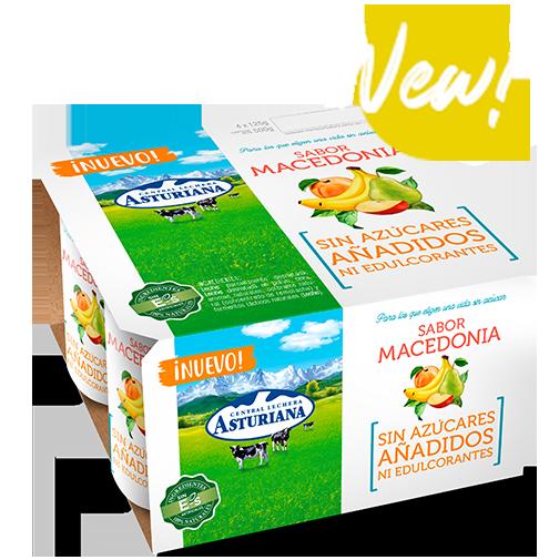 yogur sabor macedonia