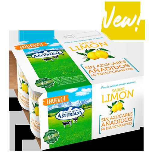 yogur sabor limon