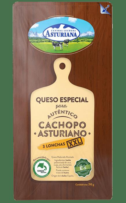 Queso en lonchas especial auténtico Cachopo Asturiano